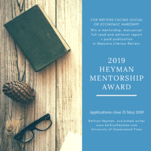 2019 Heyman Mentorship Award